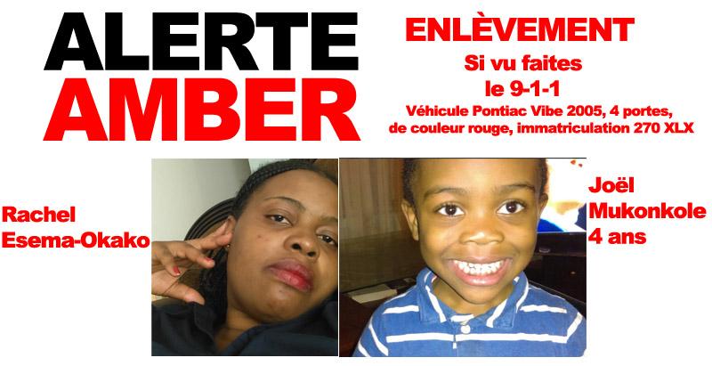Un enfant enlevé à Saint-Jérôme — Alerte AMBER déclenchée
