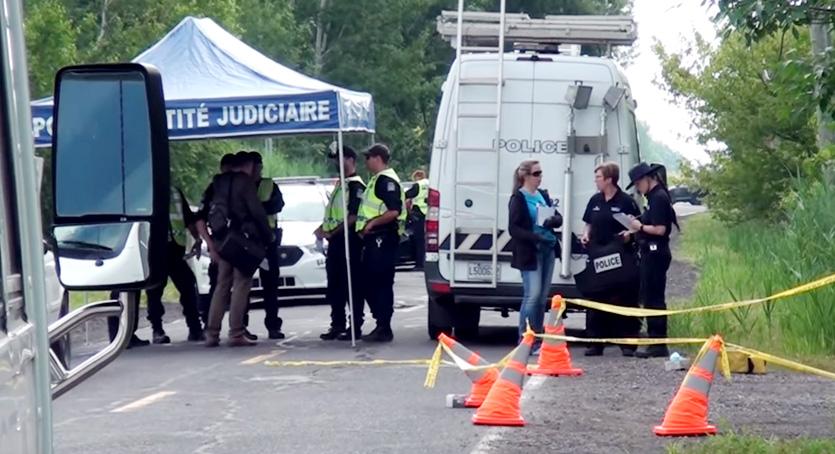 Double meurtre à Brossard: pas de suspect (vidéo)