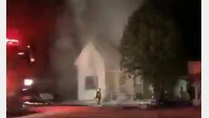 Vidéo d'une lectrice / Incendie de St-Côme Linière / Collaboration avec la page Facebook de Faits divers Beauce-Frontenac
