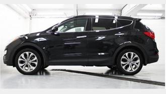 VÉHICULE RECHERCHÉ : Marque Hyundai Modèle Tucson ou Santa Fe Noir / *Photo à titre indicatif